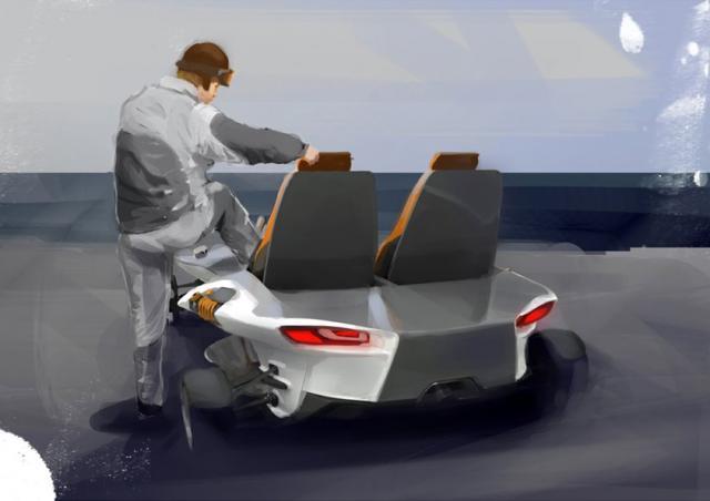 Florian Dobe's concept-kart