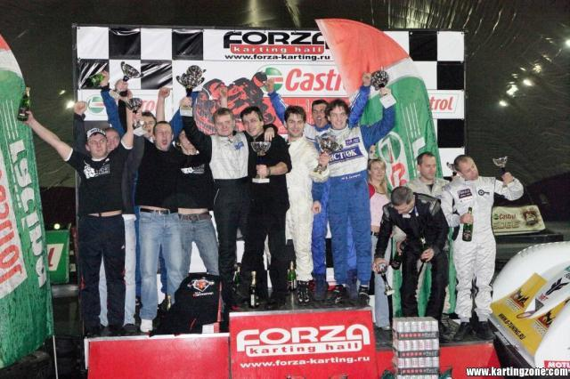 Гонка звёзд по картингу «Гран При Castrol»